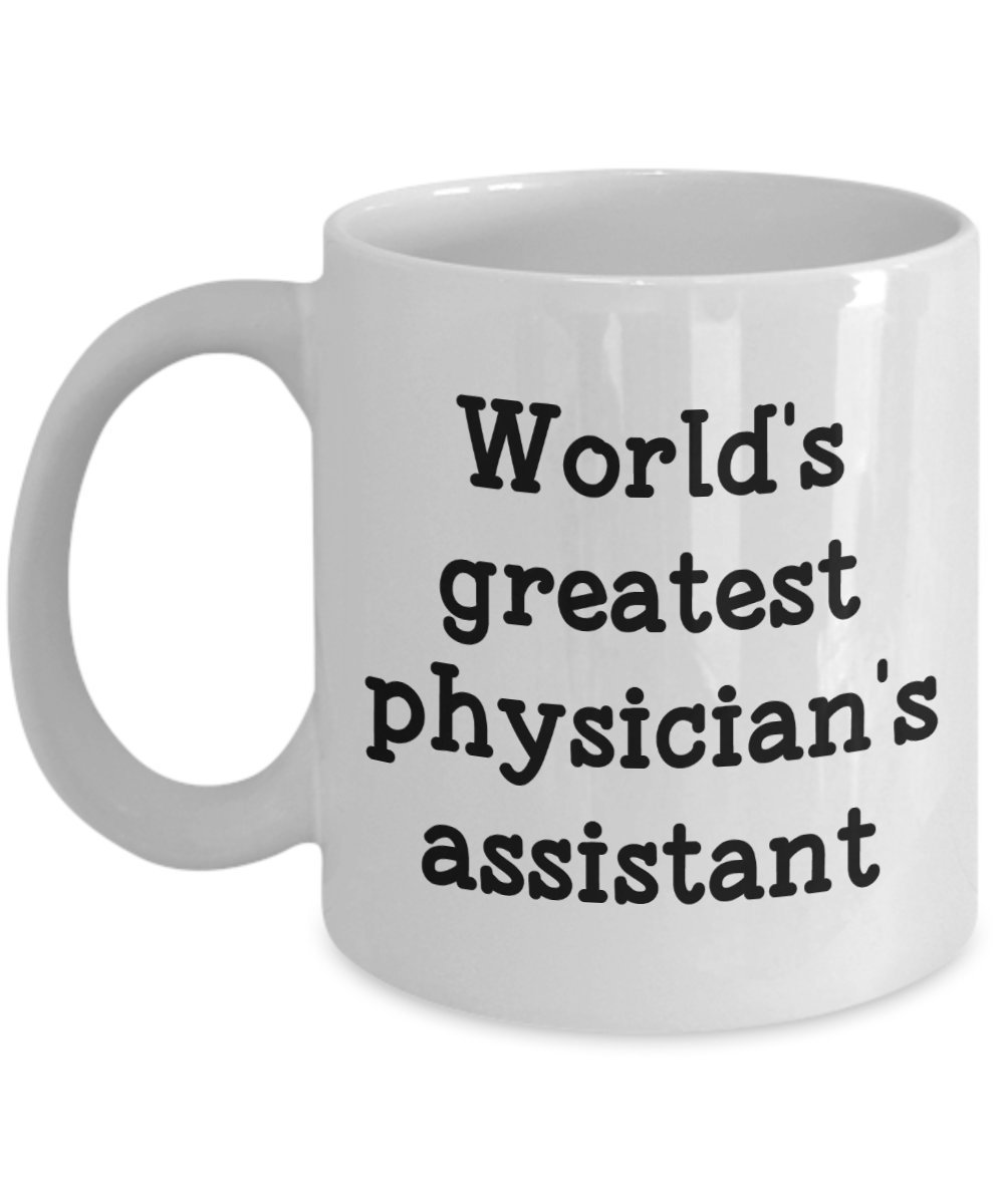 Physicians Assistant Mug Funny Tea... World/'s Greatest Physicians Assistant