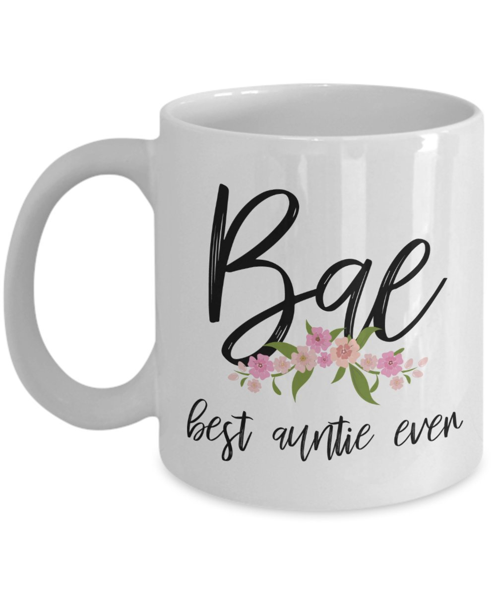Great birthday gifts idea for Aunt Bae best Auntie Ever Mug Coffee Cup