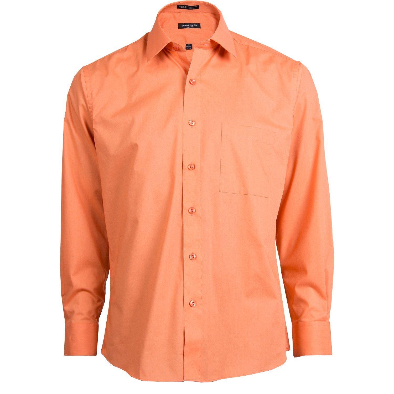 Pierre Cardin Men Slim Fit Button Down Long Sleeve Dress Casual