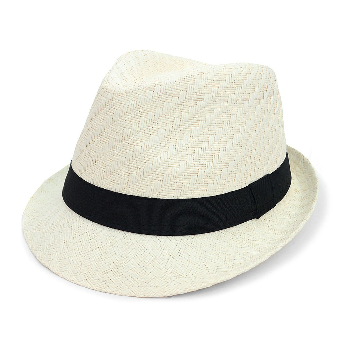 Men /& Women Summer Short Brim Fedora Hat FSS17125