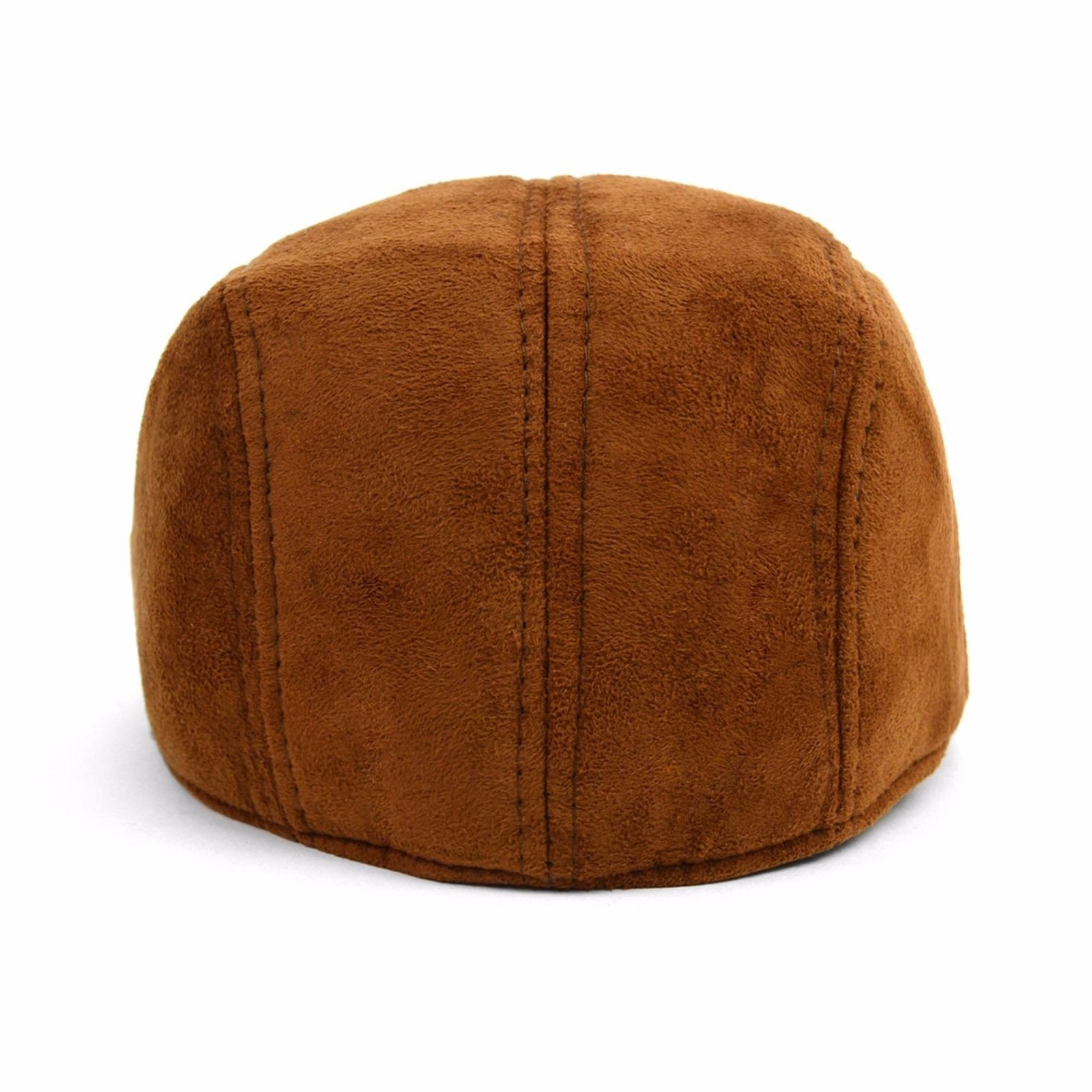 IFW1732 Men's Faux Suede Fall// Winter Ivy Cap