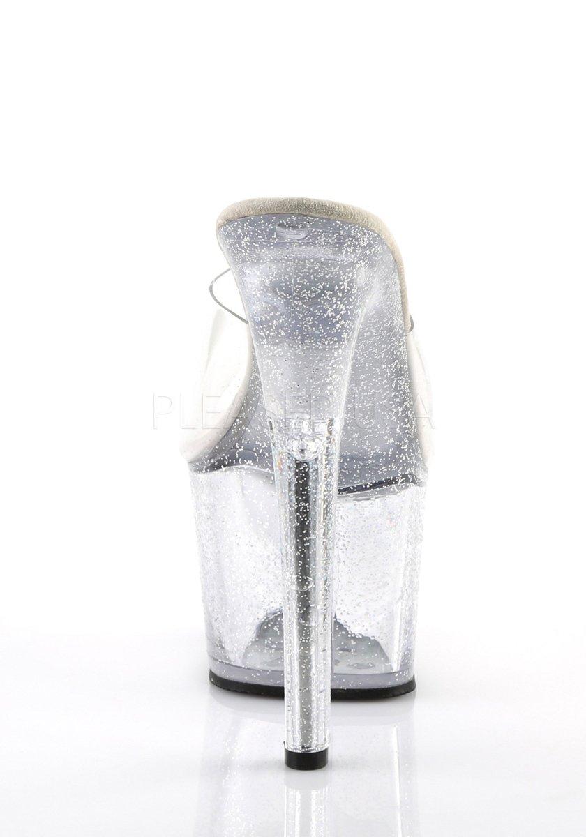 2 3//4 Inch Platform Slide Pleaser SKY-301MG 7 Inch Heel