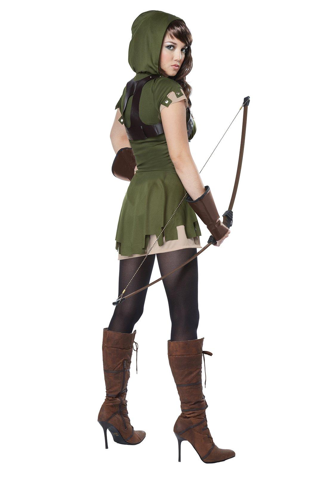California Costumes 01358 Adult Lady Robin Hood