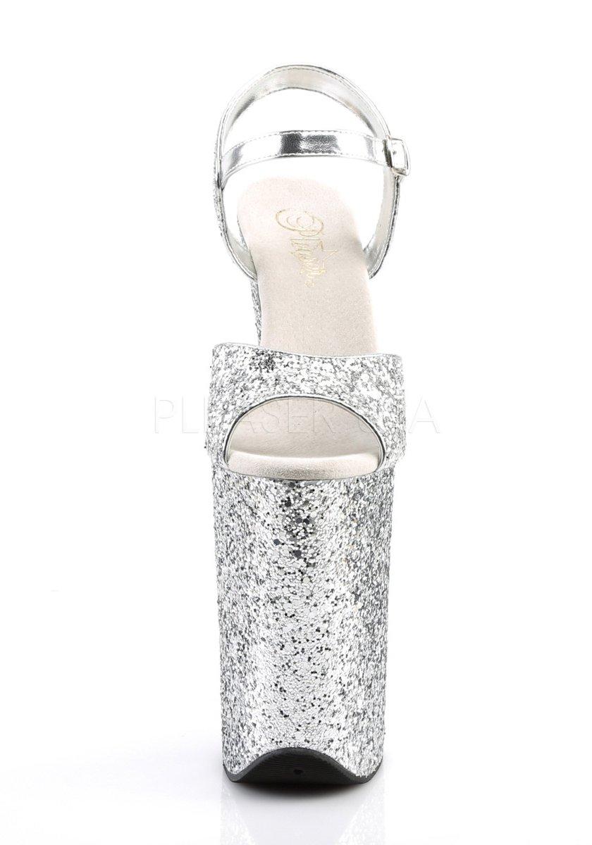 5 1//4 Inch Platform Ankle Strap Sandal Pleaser INFINITY-910LG 9 Inch Heel