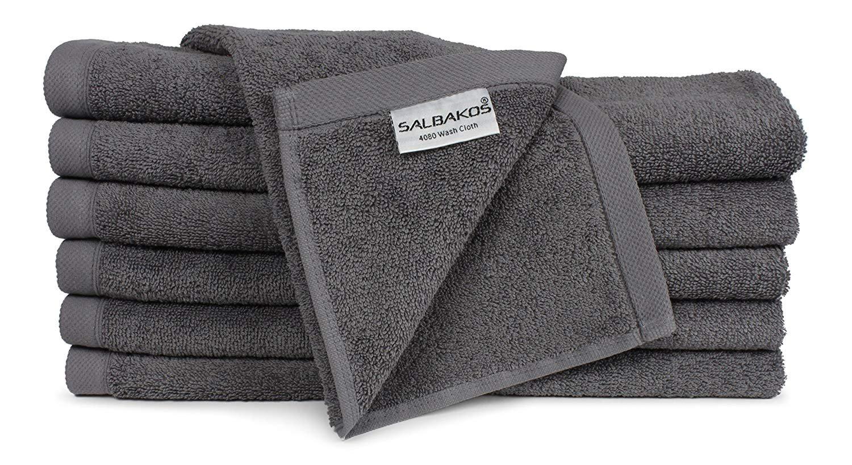 EcoFriendly Pick Color SALBAKOS Turkish Luxury Cotton Bath Sheet or Washcloths