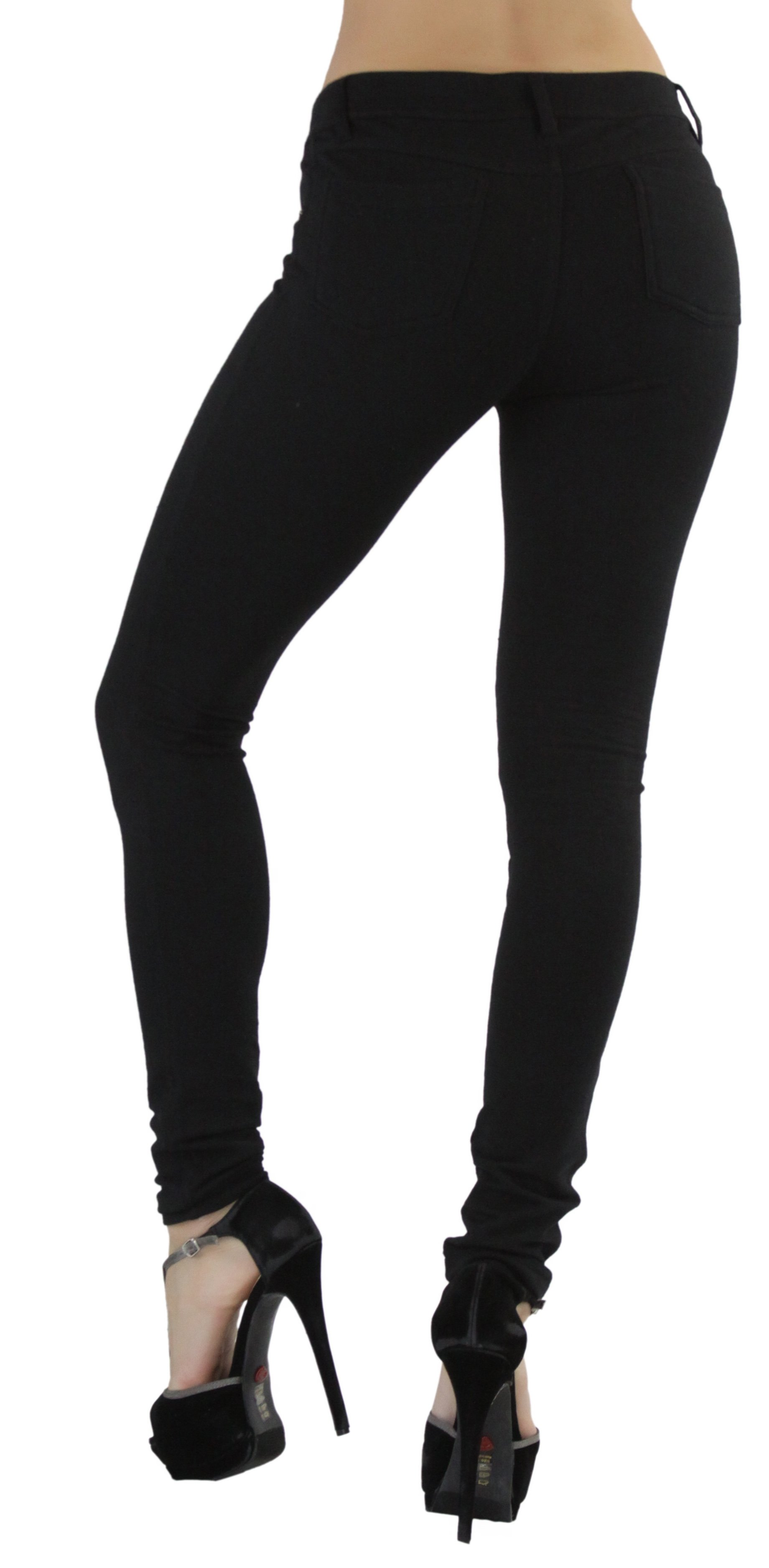 ToBeInStyle Women/'s Slim Fitted Moleton Jeans