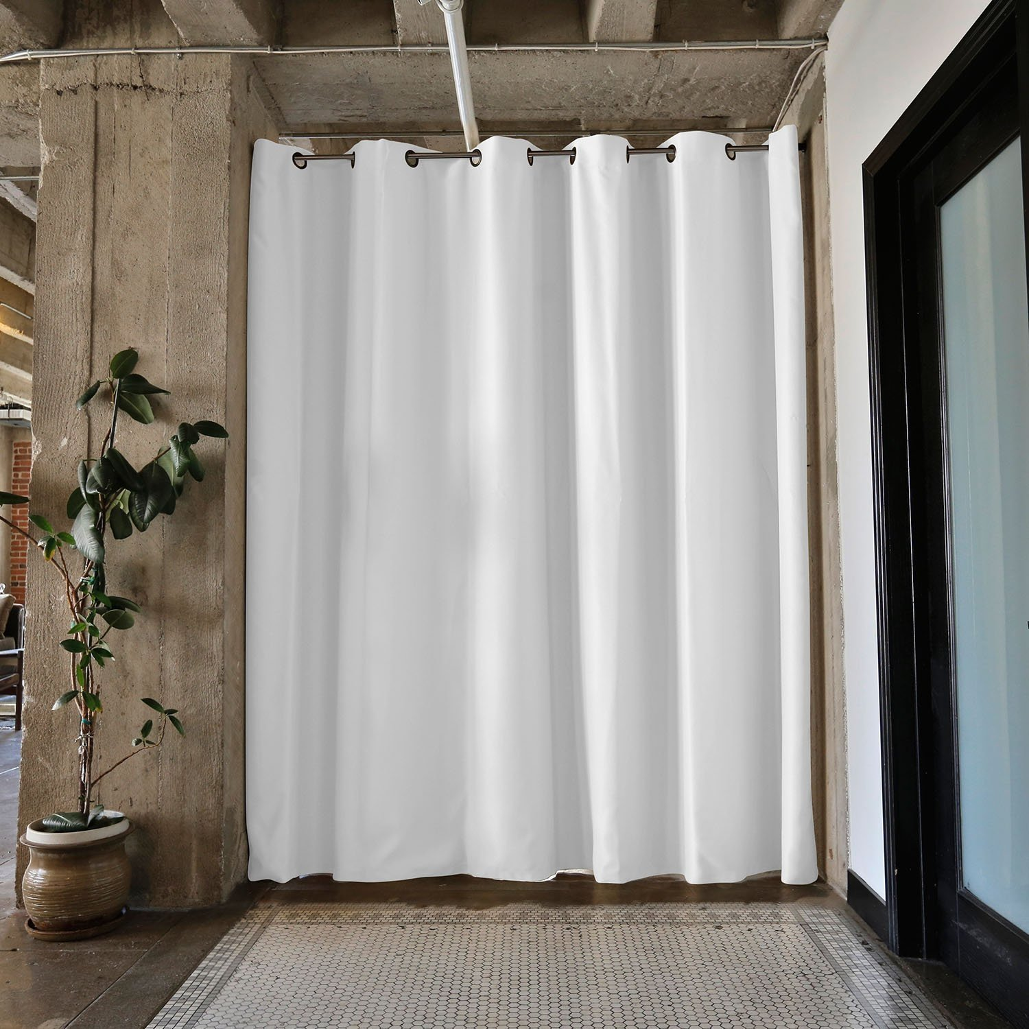 Curtain rod extension