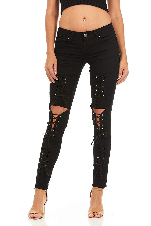 Cover Girl Women/'s Skinny Jeans Joggers Cargo Juniors Pants