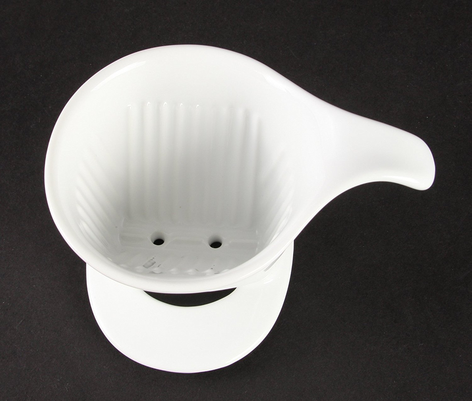 Pour Over Coffee Maker Ceramic : Bee House Ceramic Pour Over Coffee Maker Dripper - Large - Drip Cone -White eBay