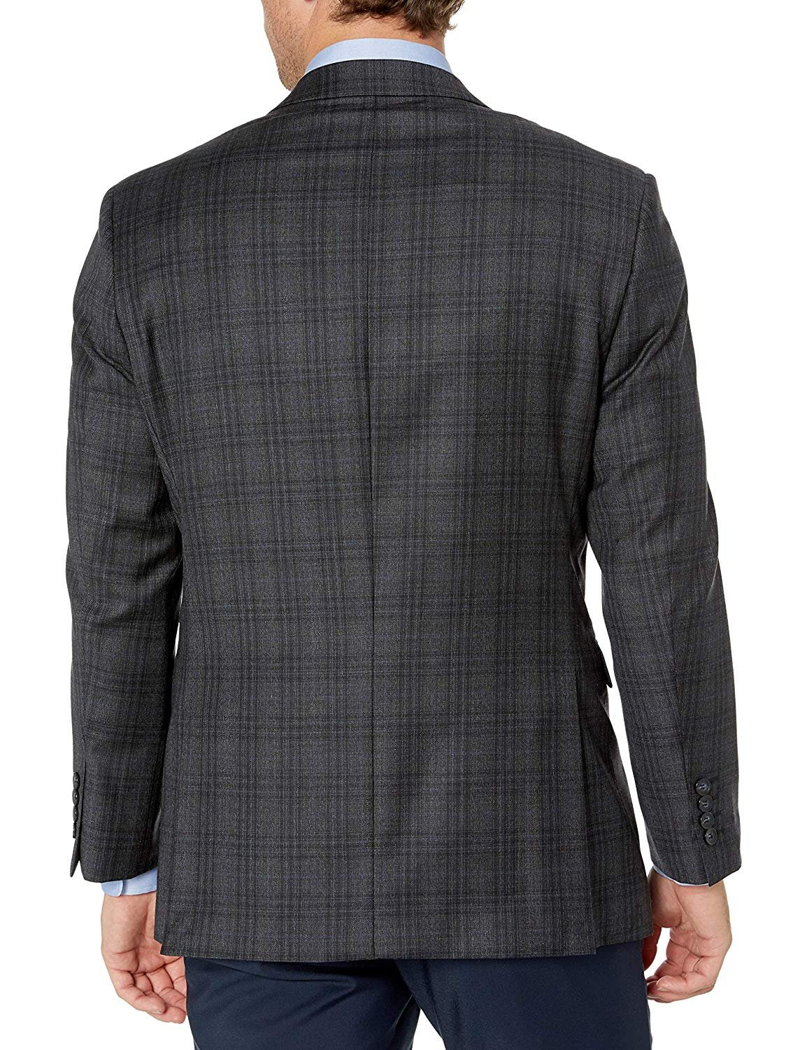 Adam Baker Mens Single Breasted 100/% Wool Ultra Slim Fit Blazer//Sport Coat Many Styles and Colors