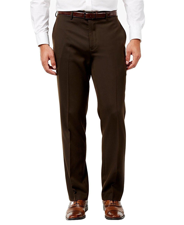 Giorgio Fiorelli Men/'s Suit Separate Dress Pants Size 44 NWT Dark Brown Slacks
