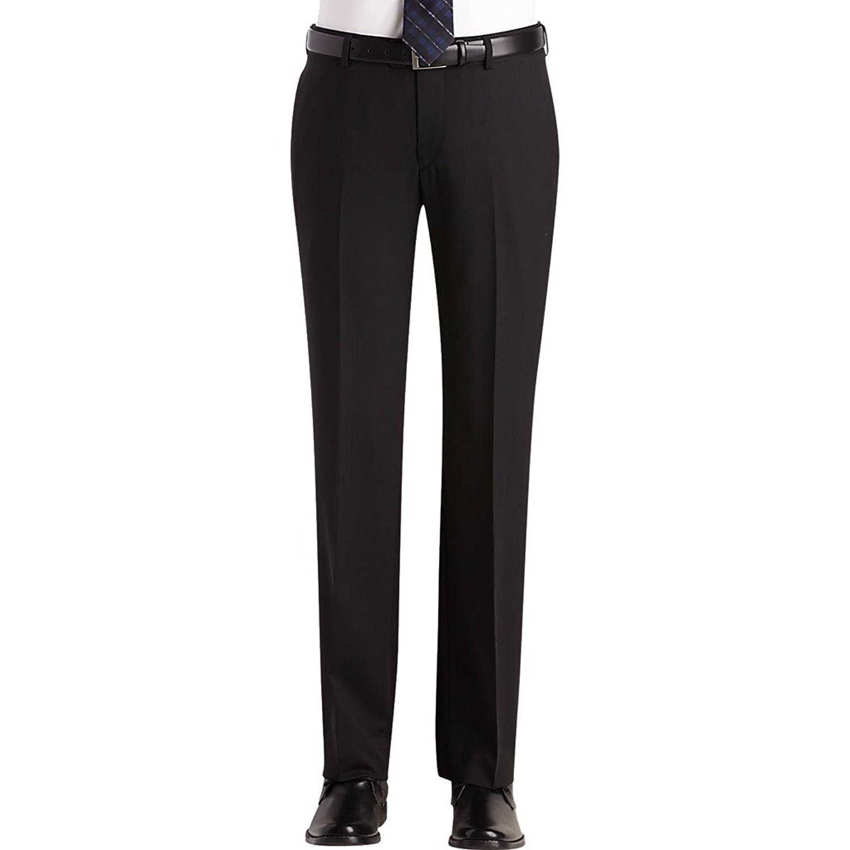 Giorgio Fiorelli Men's Slim-Tapered Fit Flat Front Solid ...