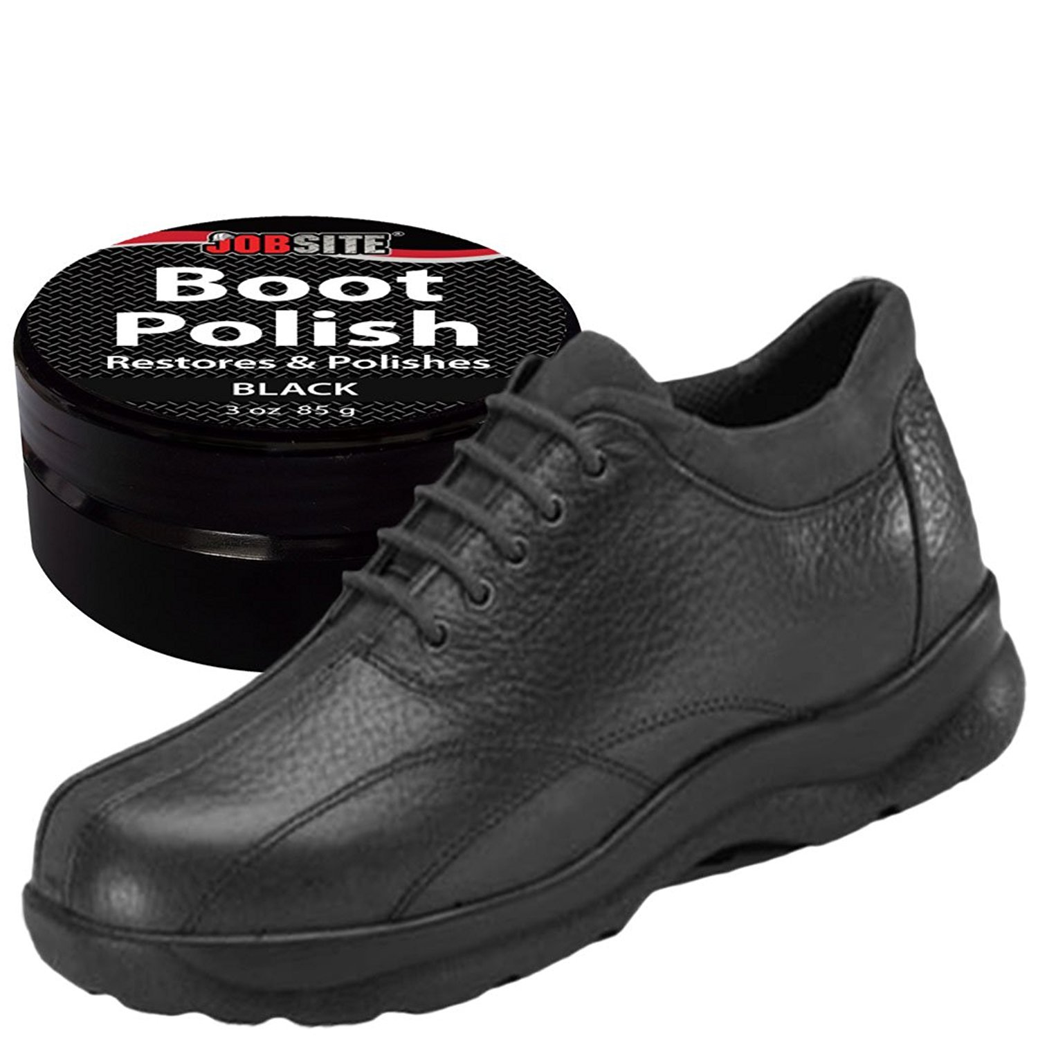 70aedb29be375 Details about JobSite Premium Leather Boot & Shoe Polish Cream Restores  Conditions Protects