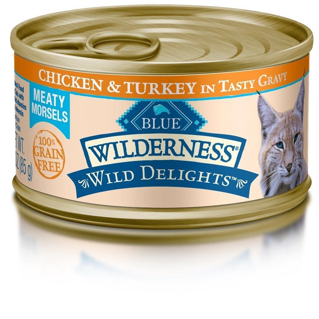 Blue Wilderness Wild Delights High Protein Grain Free Wet
