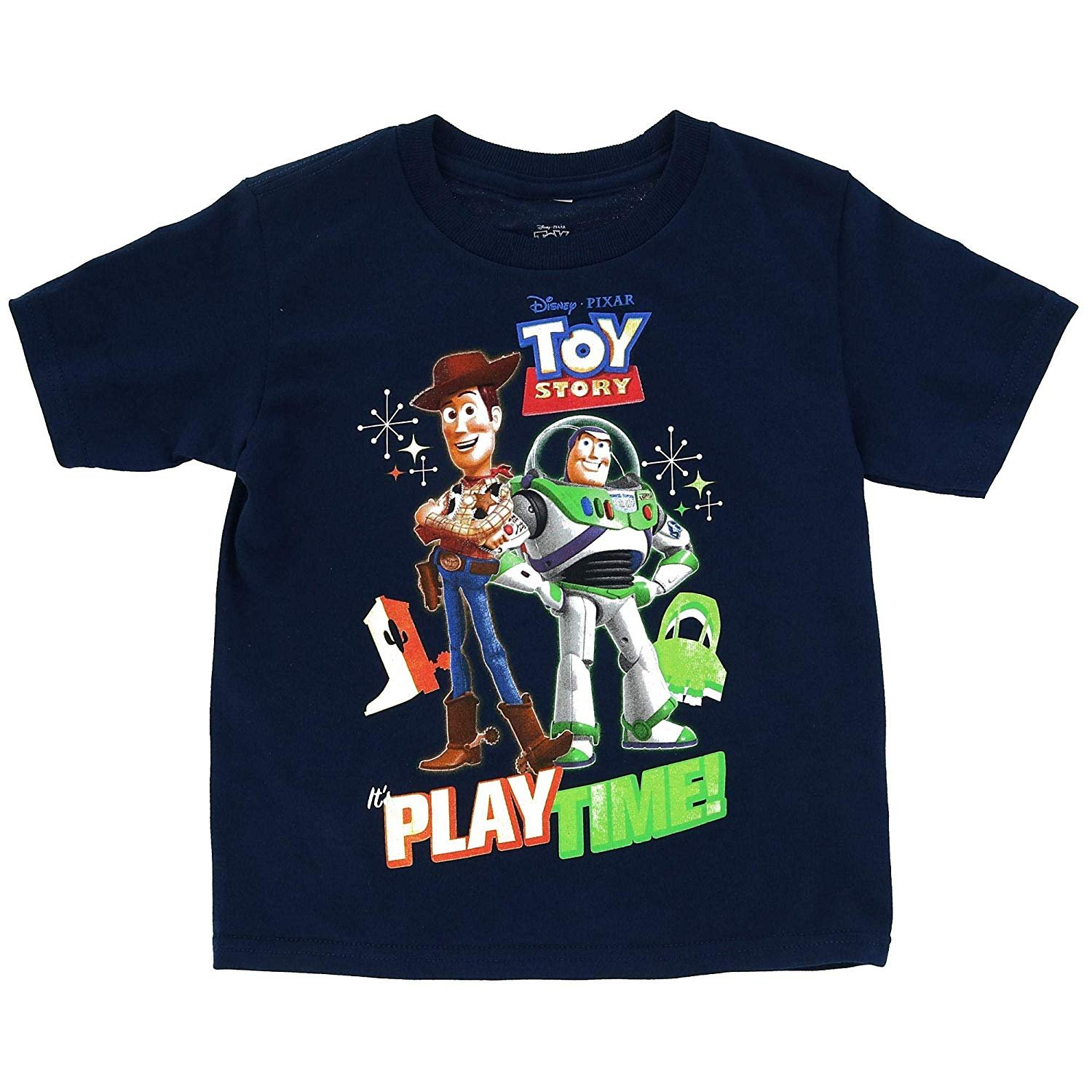 Toy Story 4 Kids Boys Girls Cotton T-Shirt Tops Clothes Buzz Lightyear Woody