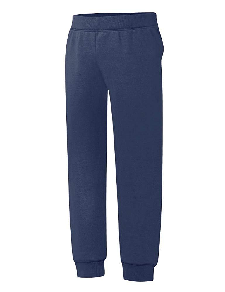 Hanes Big Girls ComfortSoft EcoSmart Fleece Jogger Pants