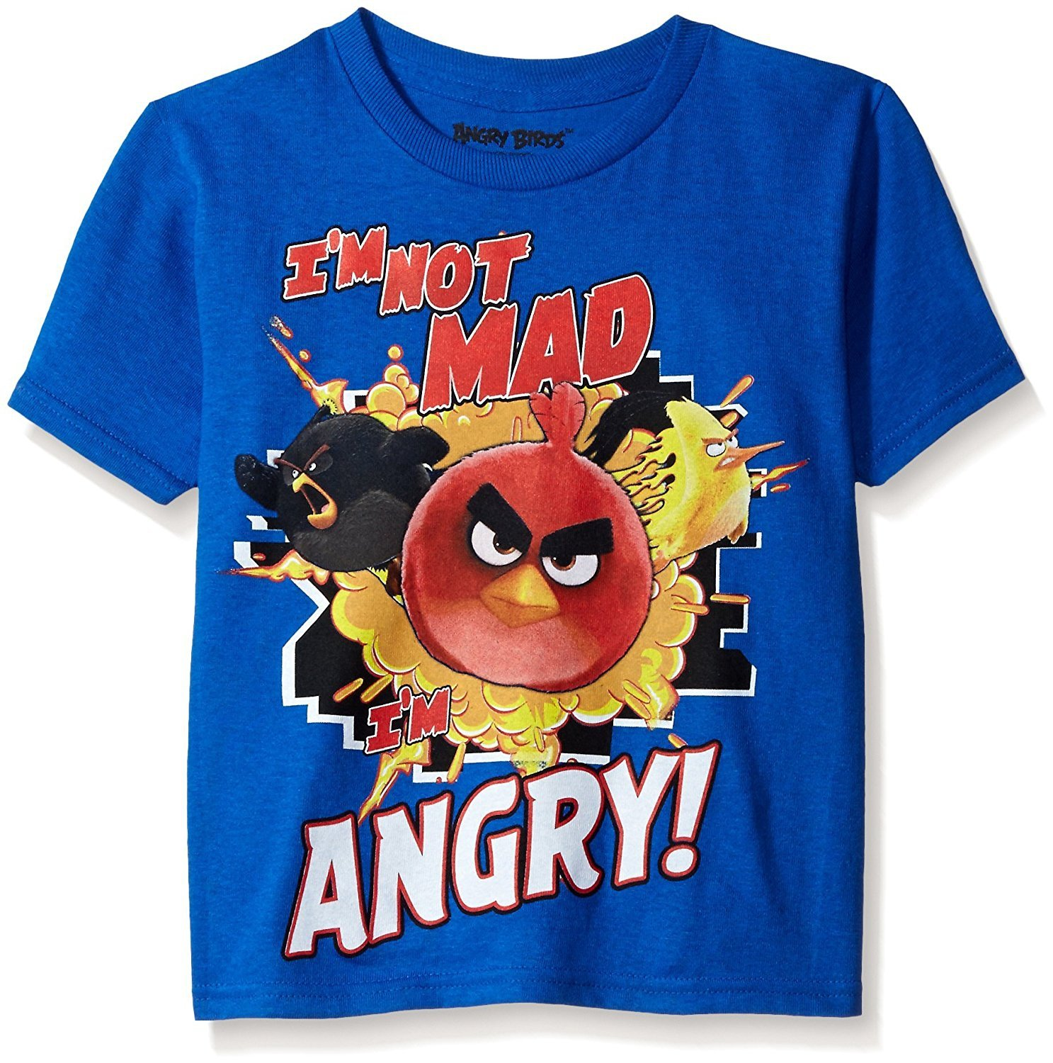 Look for this costume in yellow, as well as the entire Angry Birds line for adults, kids, infants, and pets. Baby Angry Birds Movie Bomb Romper Costume (Rubie's) .