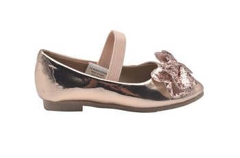 0a6515c664d6a Details about bebe Toddler Girls Ballet Flats Toddler Glitter Bow Mary Jane  Ballerina Shoes