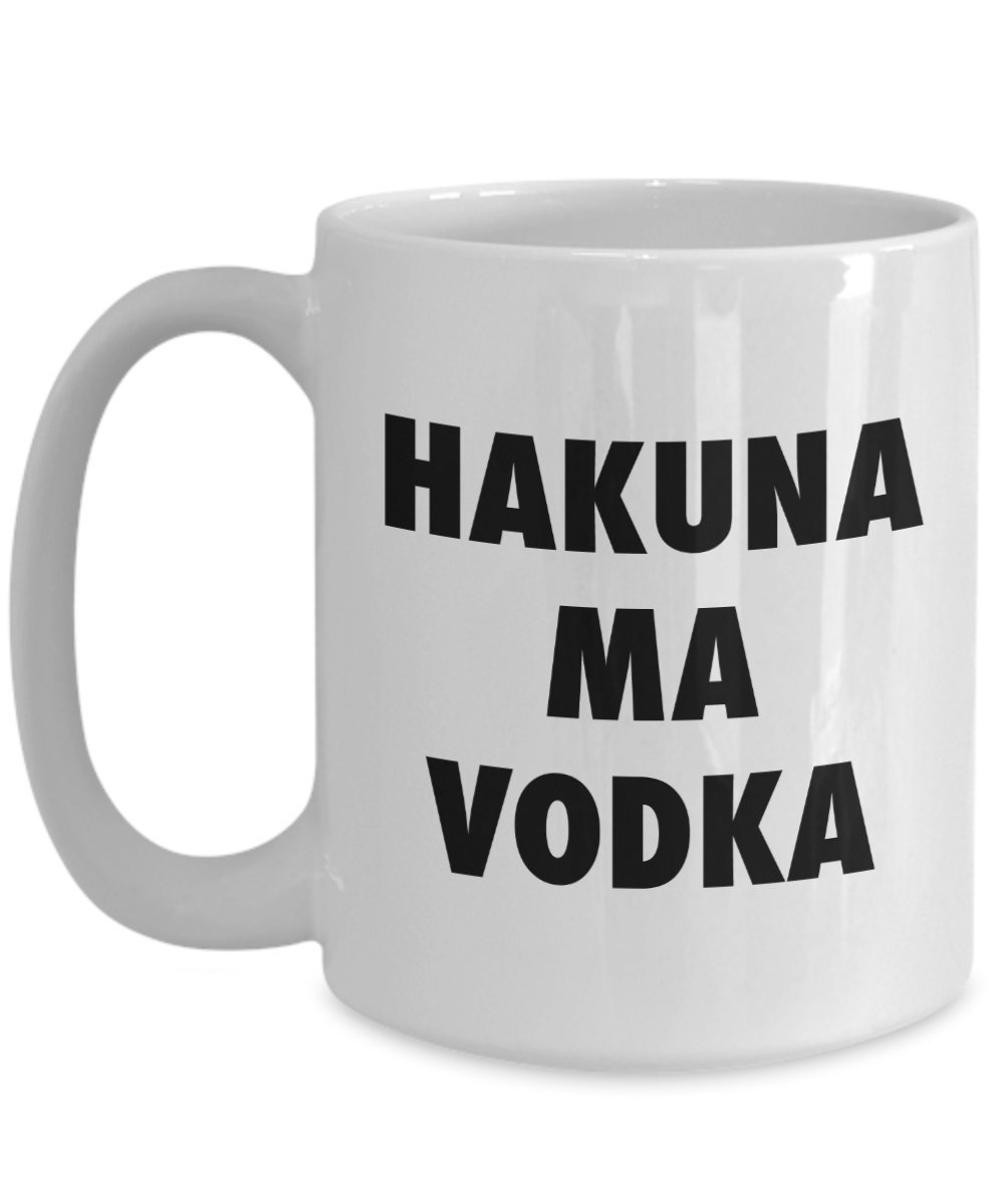 miniature 5 - Hakuna ma Vodka Mug - Funny Coffee Cup - Novelty Birthday Gift Idea