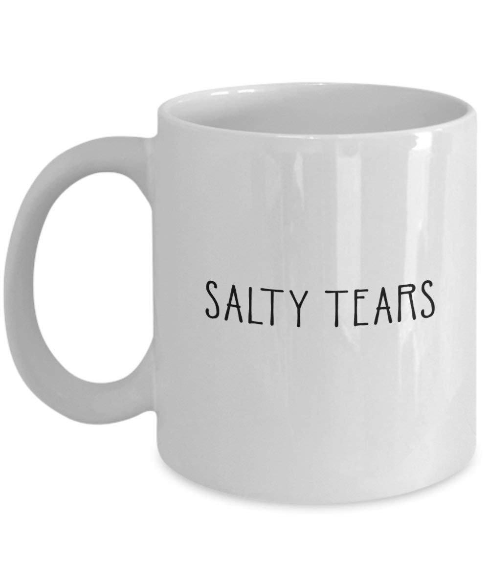 Salty Tears Mug - Funny Tea Hot Cocoa Coffee Cup - Novelty Birthday  Christmas... | eBay