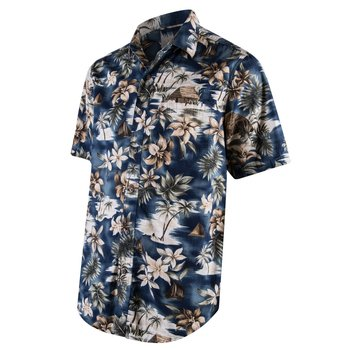 59a88d1d3ccd Campia Mens Hawaiian Tropical Beach Short Sleeve Button Down Shirt S M L XL  XXL