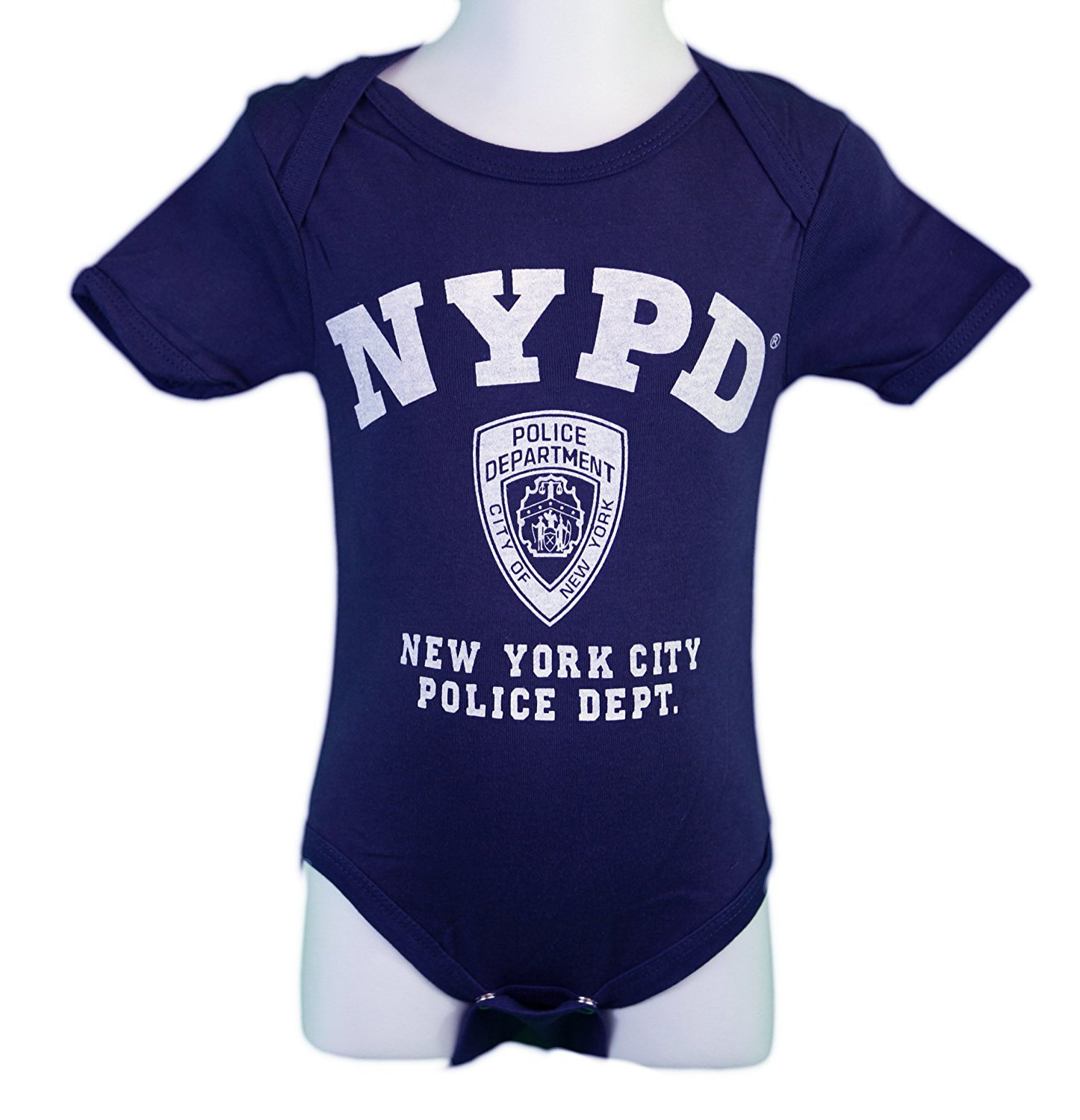Nyc Factory Boys Nypd Screen Printed Bodysuit Ebay