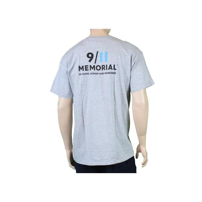 Nypd-9-11-Official-Licensed-Memorial-Short-Sleeve-T-Shirt-Gray-Nypd