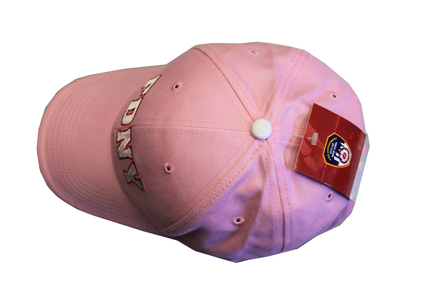 8ce9601701f FDNY Baseball Hat Fire Department Of New York City Pink   White One Size  Womens. Product Details