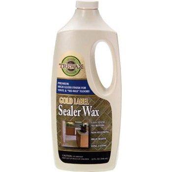 Trewax Gold Label Sealer Wax Gloss Finish 32 Ounce