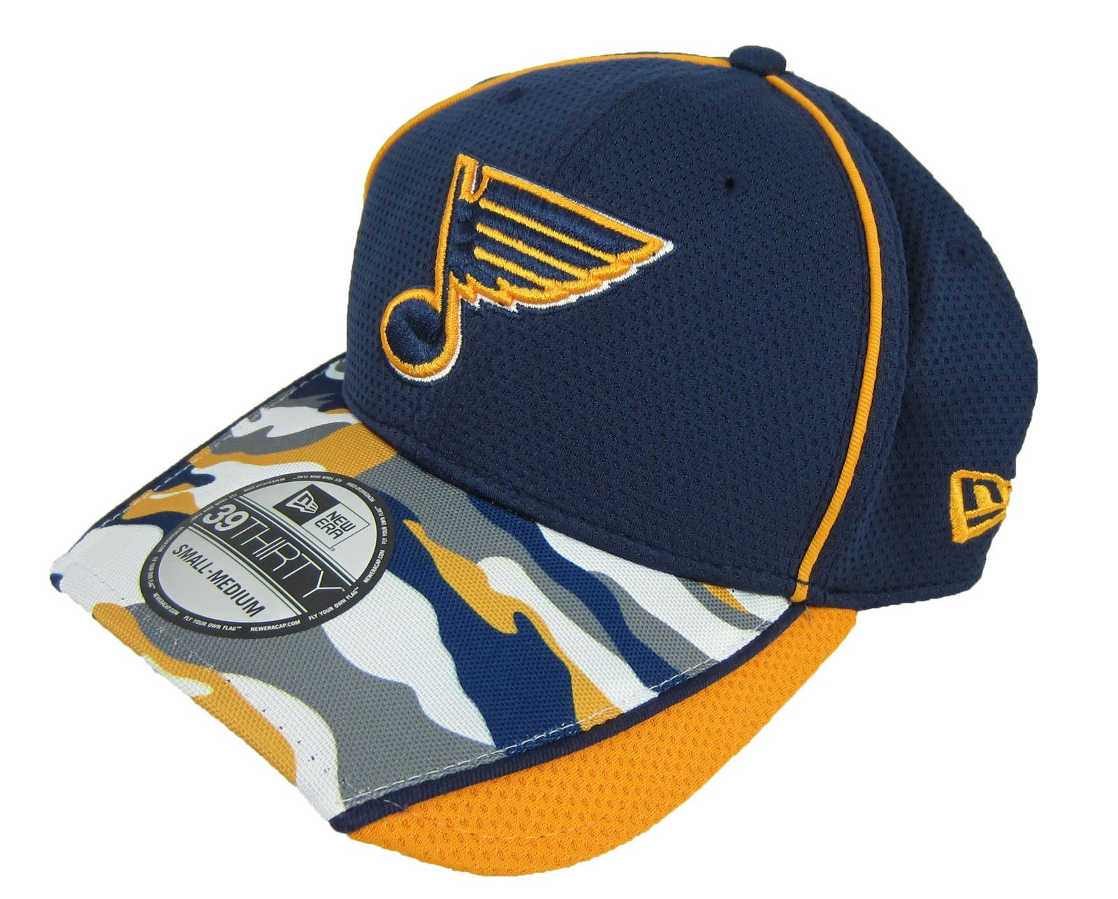 2159daa70f3 Details about New Era NHL Hockey 39Thirty St. Louis Blues Hat Fitted NWT
