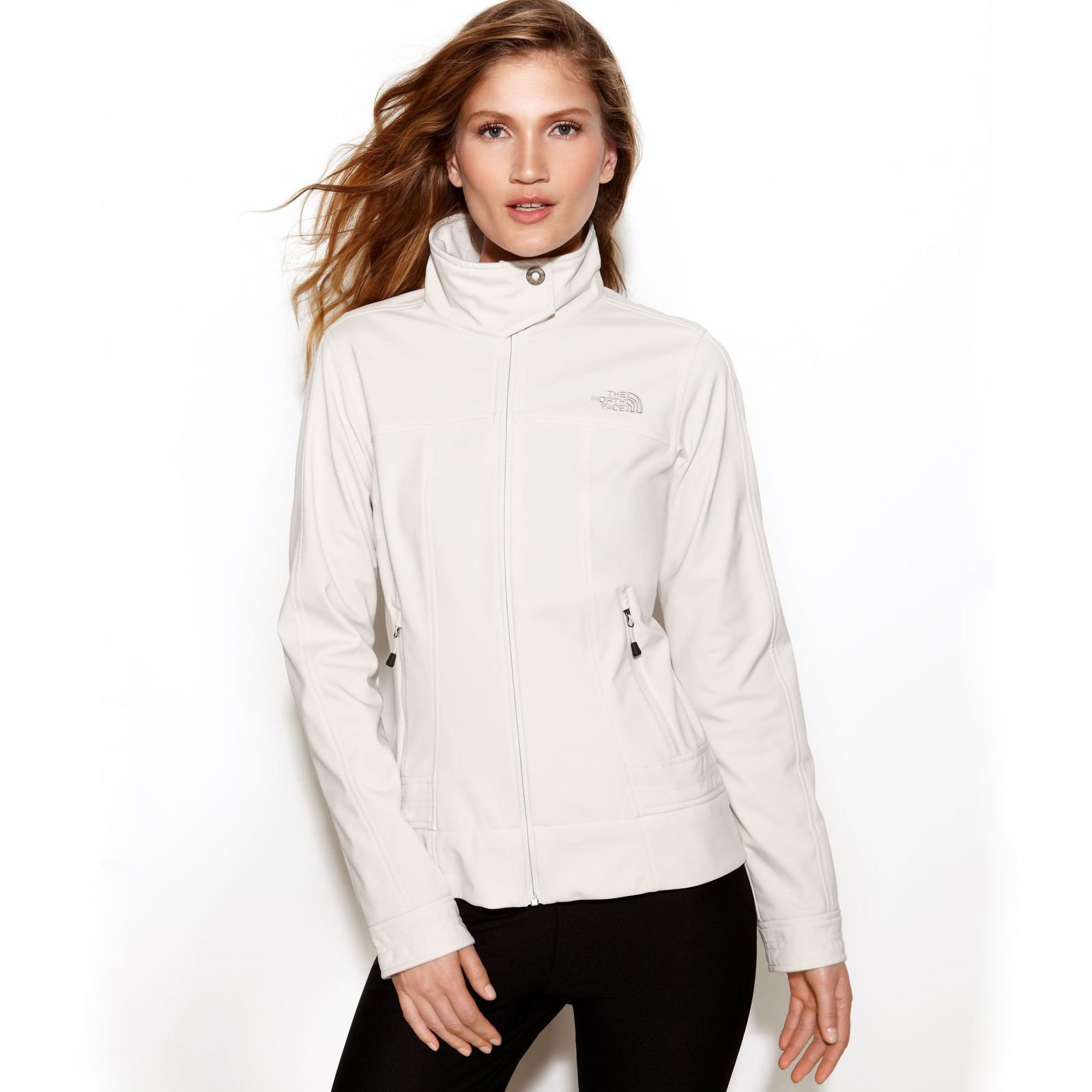 4455c9f30 Details about NWT The North Face Women's Active Fit Calentito 2 Jacket  White Size Medium