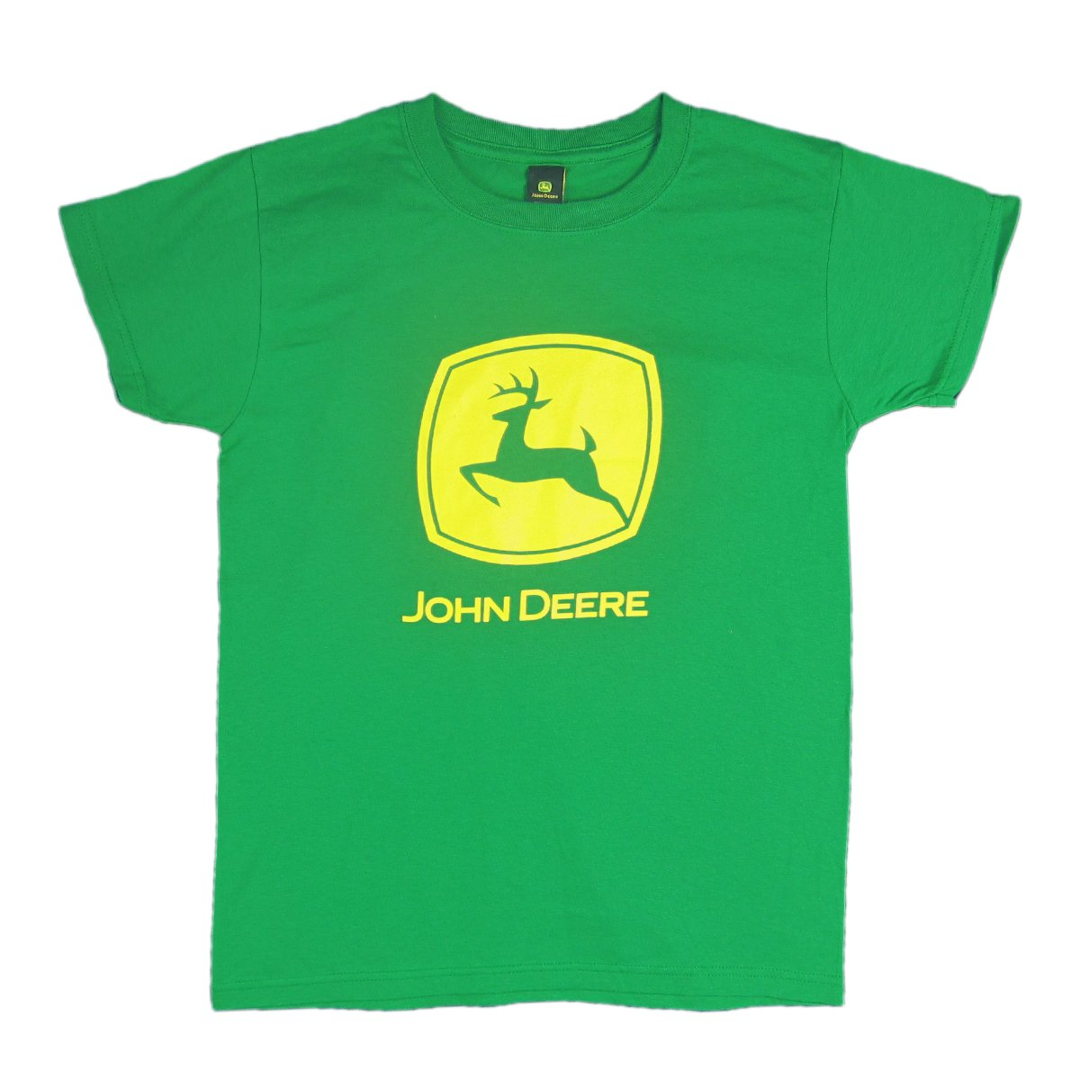JOHN DEERE YELLOW T-SHIRT M and XL SIZES AVAIL NEW L