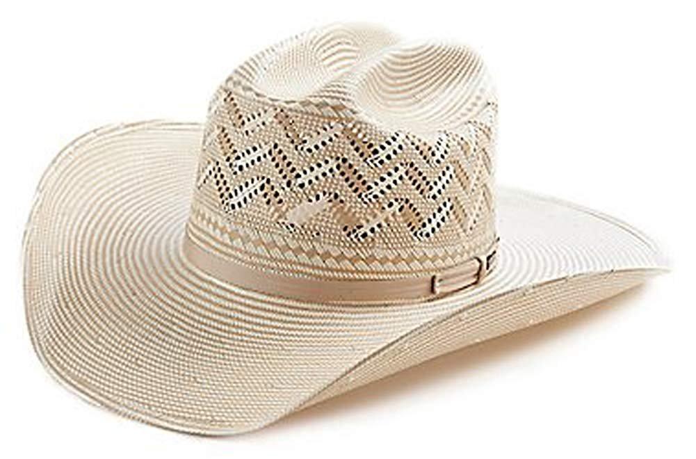 263b38a6cea70 Resistol 20X Tuff Anuff Desert Range Natural Cattleman Cowboy Hat Size 7 3 8