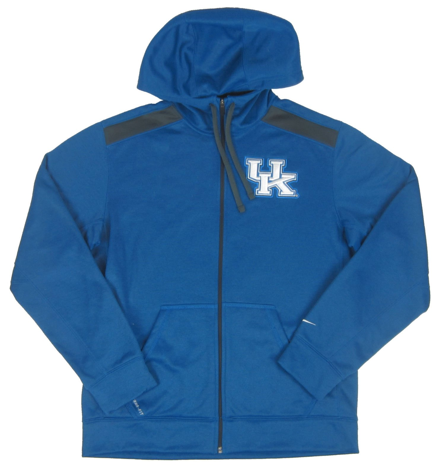Details about Nike NWT University of Kentucky Wildcats Royal Blue Zip Hoodie Size: Medium