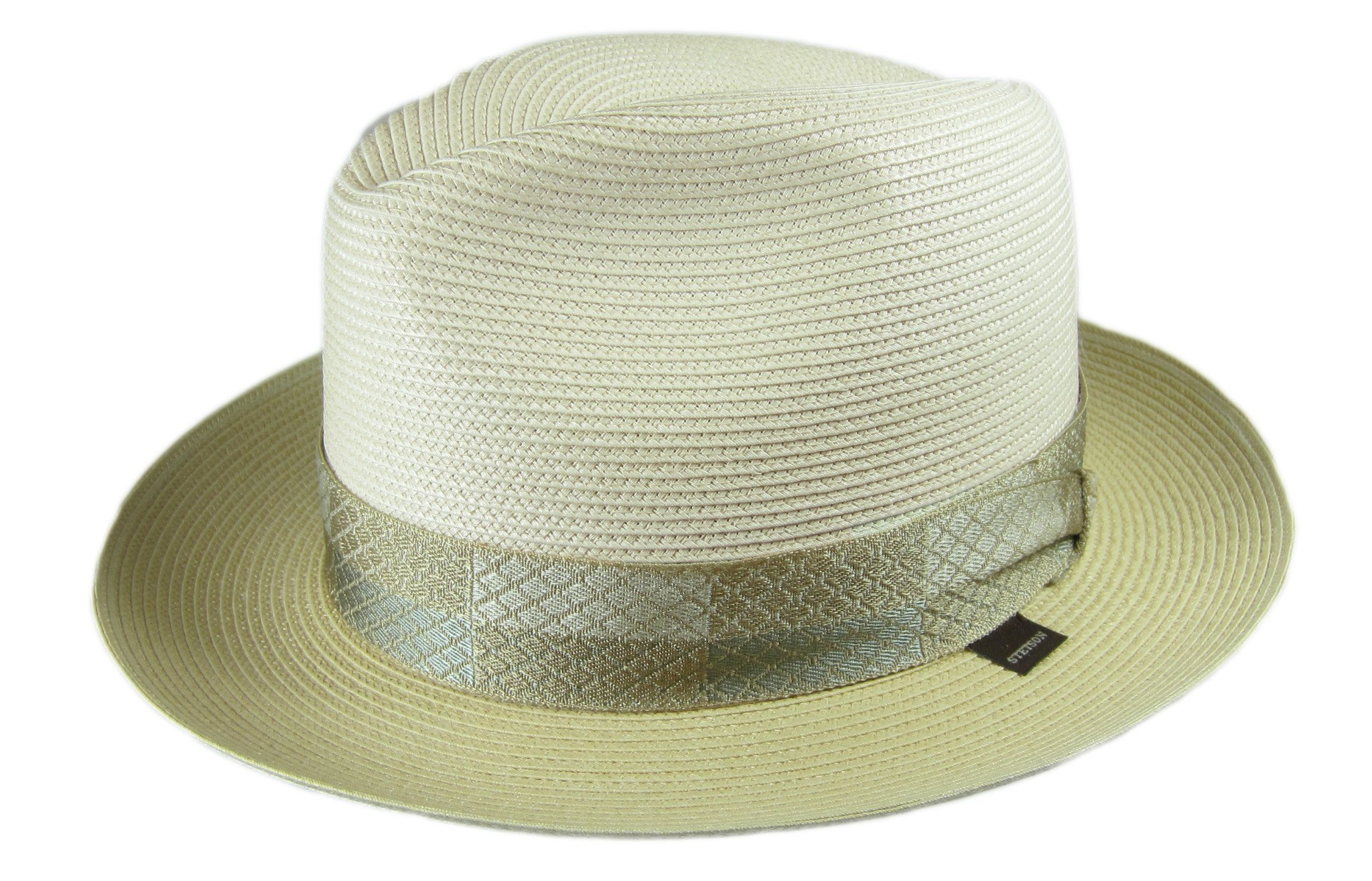 a1e5499960d01 Details about Beige Sand Stetson Men s Andover Florenine Milan Straw Hat
