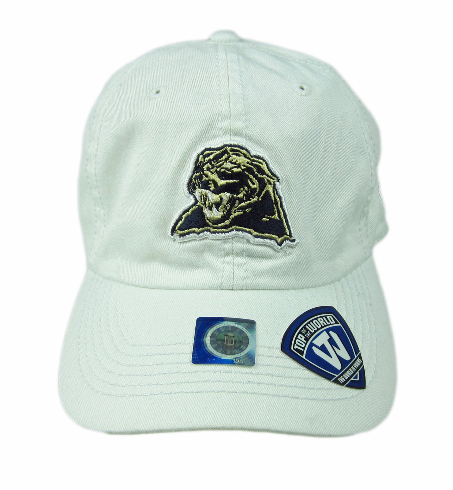 186ba82b ... Pittsburgh Panthers Adjustable Strapback Cap Hat White NWT. Product  Details