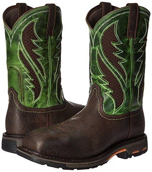 050b80c3d30 Details about Ariat Work Men's Workhog Venttek Composite Toe Boot 10020084