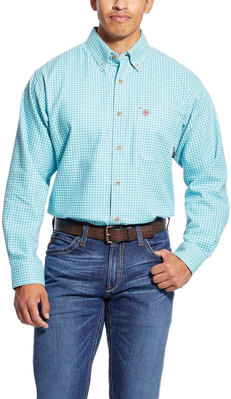 Ariat Mens Mens Flame Resistant Work Shirt