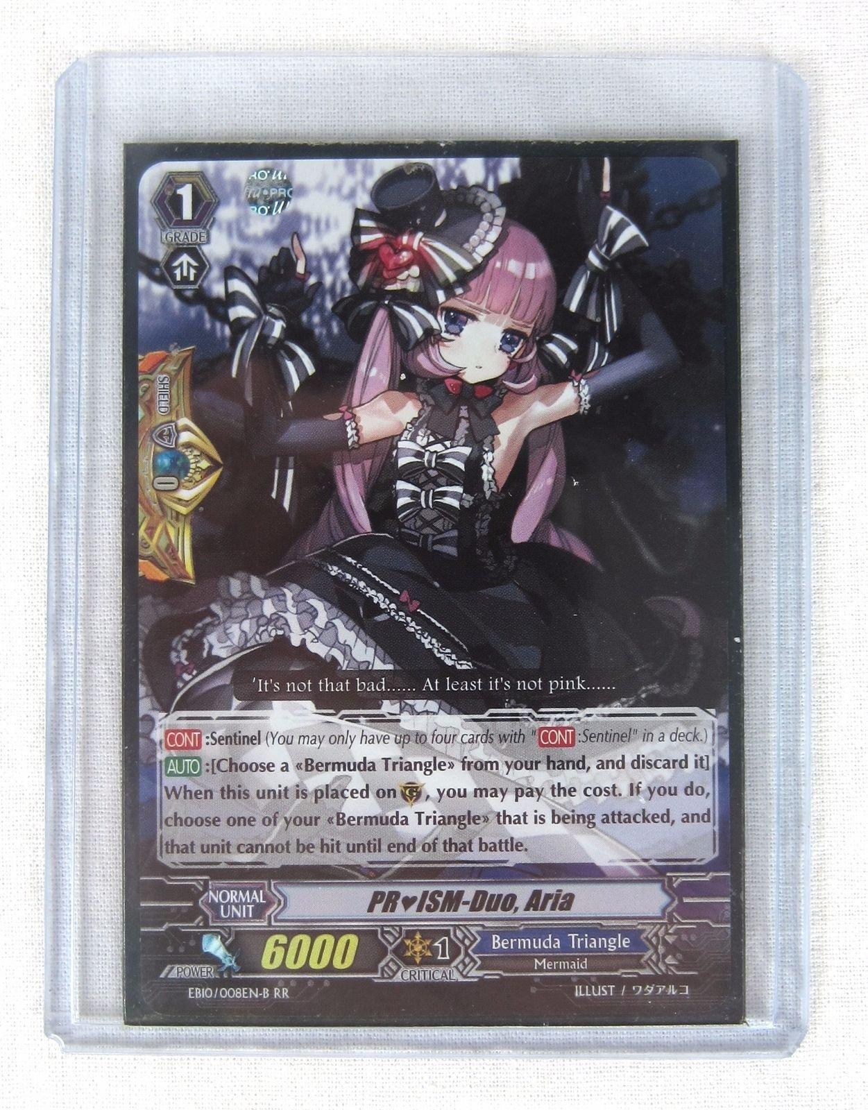 G-CB04//043EN Cardfight Vanguard  x 4 Faceless Maiden Iter C Pack Fresh Mint