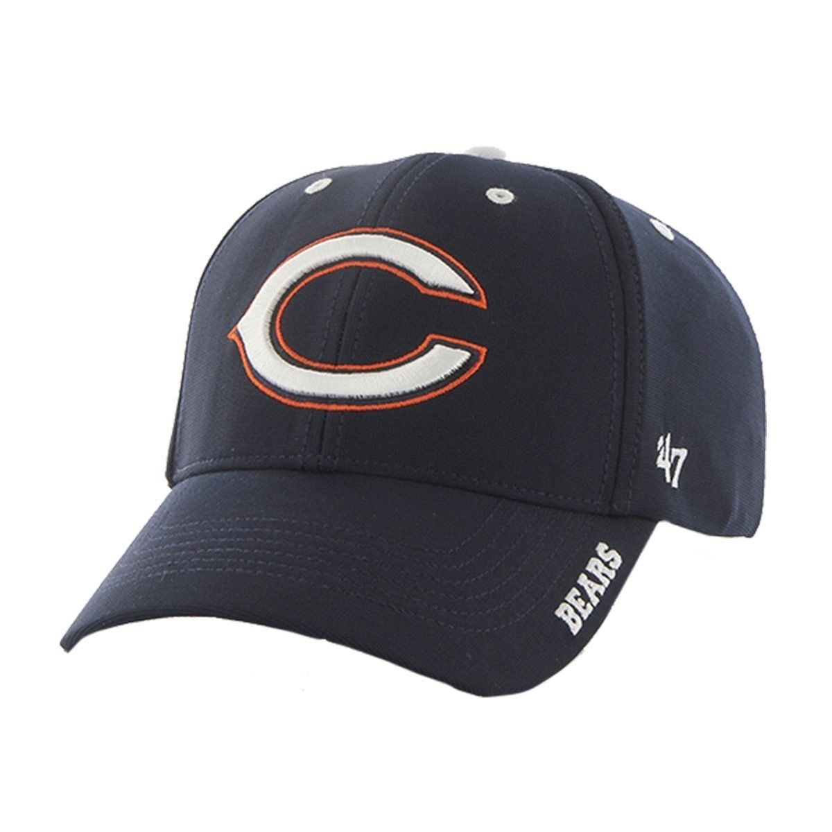 e5217c454 Details about  47 Brand NFL Chicago Bears Condenser MVP Adjustable Hat One  Size Navy NWT