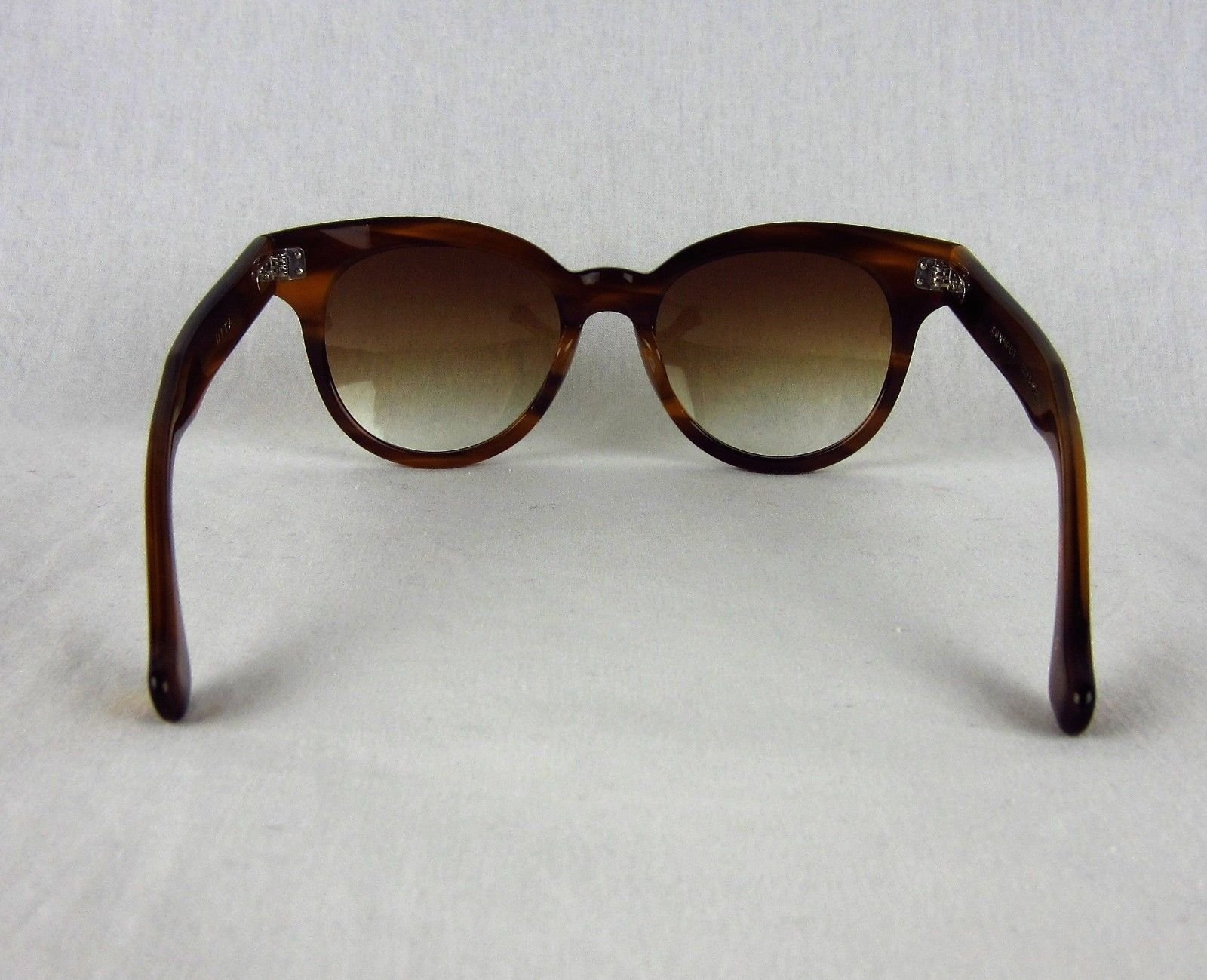 fb37062efd8 NEW Dita Sunspot Oversized Round Sunglasses Gradient Brown Amber 22028-B-AMB -53. Product Details