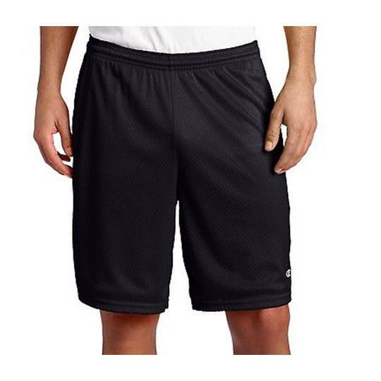ever popular buying now low price sale Details about Men's NWT Champion Mesh Basketball Shorts Black 8