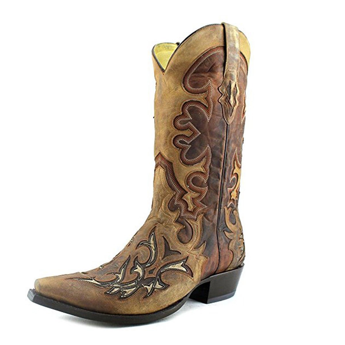 Corral Men S Inlay Cowboy Boots G1144 Ebay