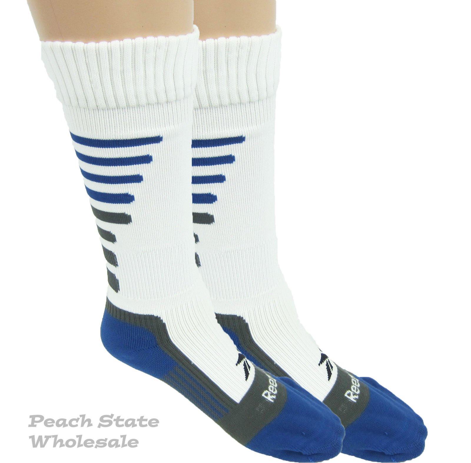 Reebok Venom-Premium All Sport Small Youth Socks White Blue Gray Shoe Size  13-4. Product Details ebb86cf0f