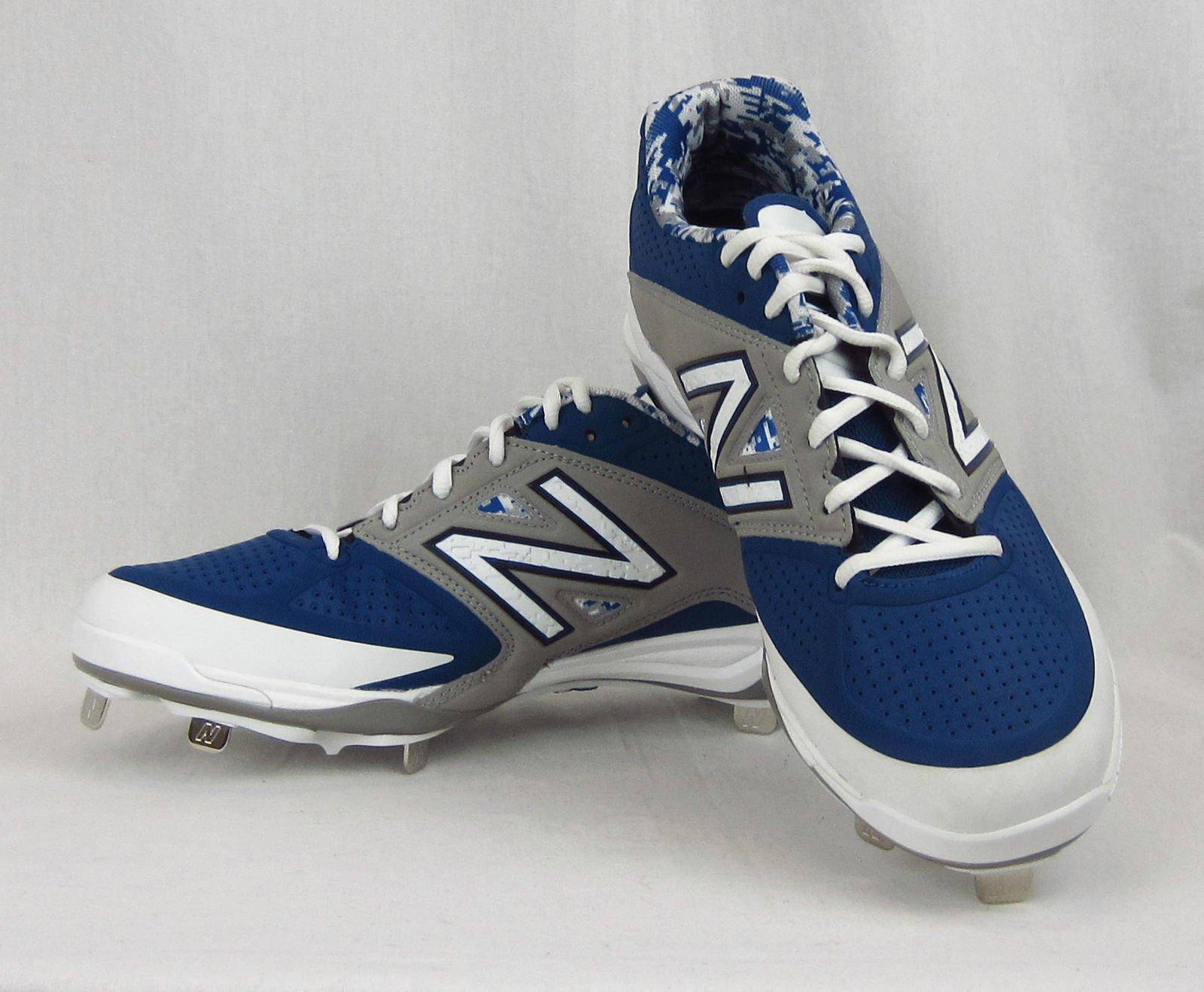 new balance blue cleats