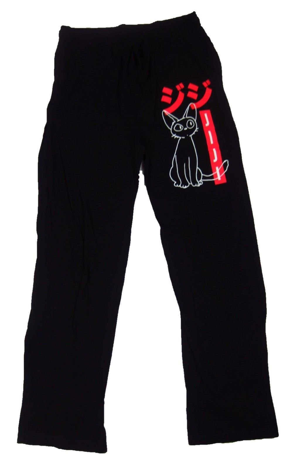 9a162e9e622 Mens Womens NEW Kiki s Delivery Service Cat Jiji Pajama Lounge Pants Size  XS-2XL