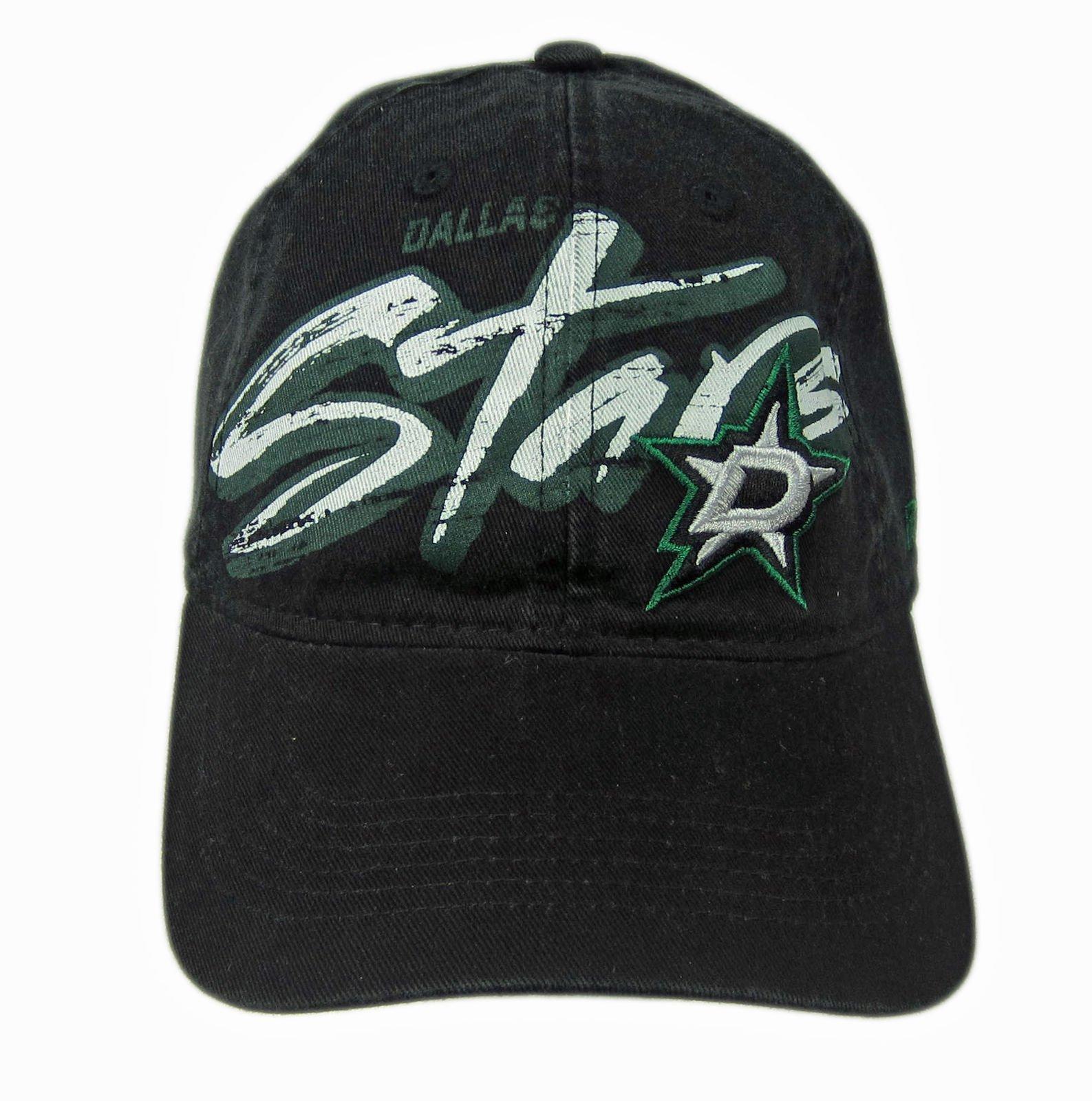 638b316816b Product Details. Reebok Dallas Stars NHL Black Slouch Adjustable Snapback  Hat Cap 100% Cotton ...