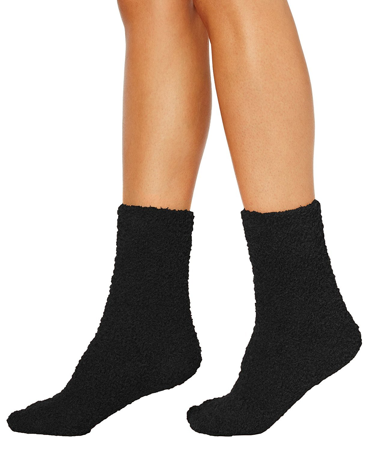 Charter Club Women/'s Heather Gray Fuzzy Cozy Super Soft Socks NEW w Tags