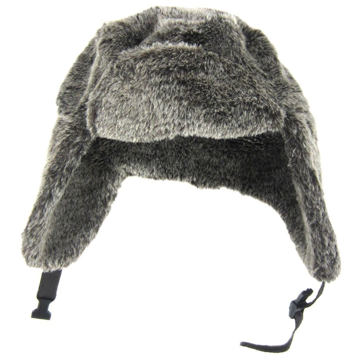 Details about NWT Dorfman Pacific Co Design Handmade Faux Fur Russian  Ushanka with Buckle S M 588f34217ff