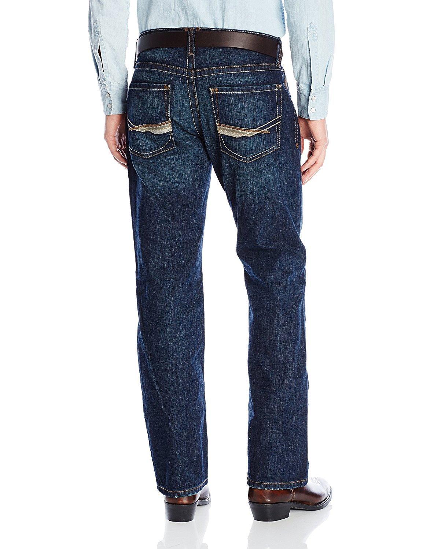 1a9ffc33 Roadhouse Ariat Men's M5 Slim Boot Cut Jean, Del Rey Roundup 10014011.  Product Details